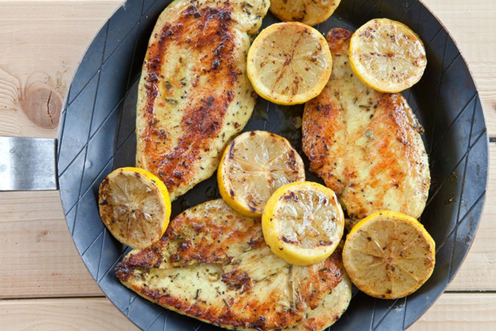 Roasted Lemon Chicken With Rosemary and Potatoes