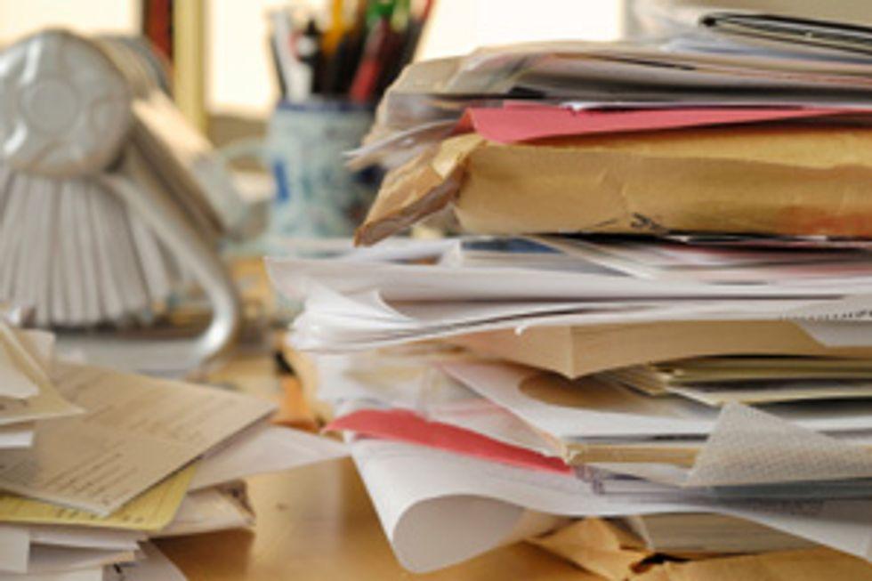 Dr. Oz's De-Clutter Checklist