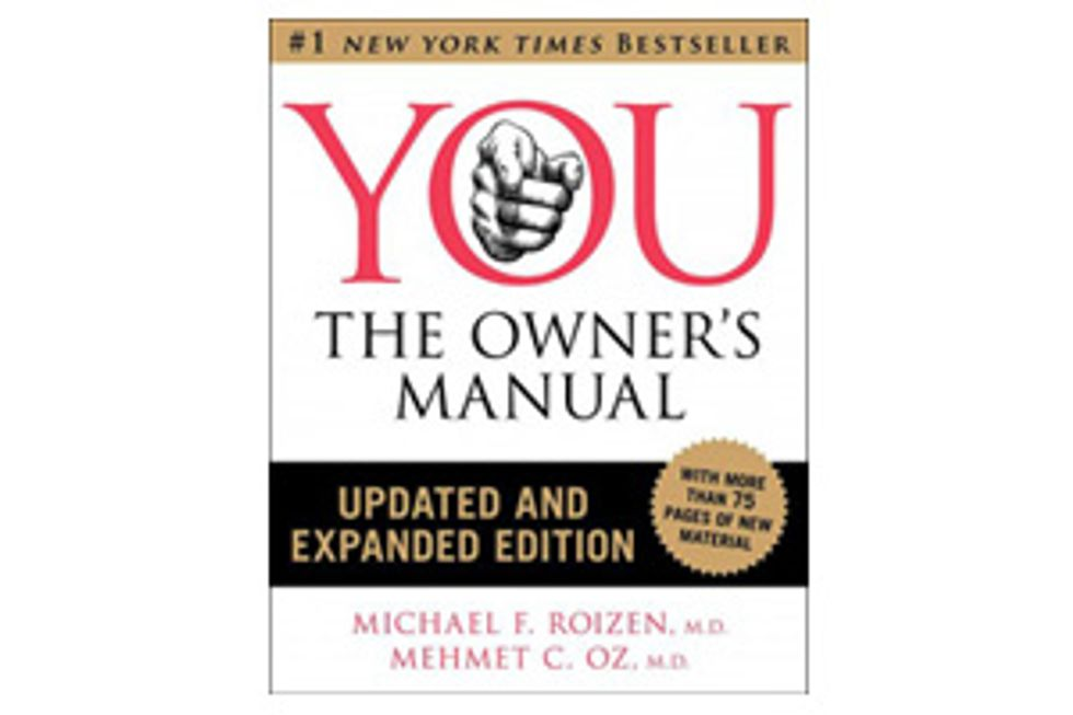 Book Excerpt: YOU The Owner's Manual