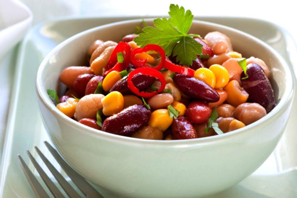 Crunchy Bean Salad