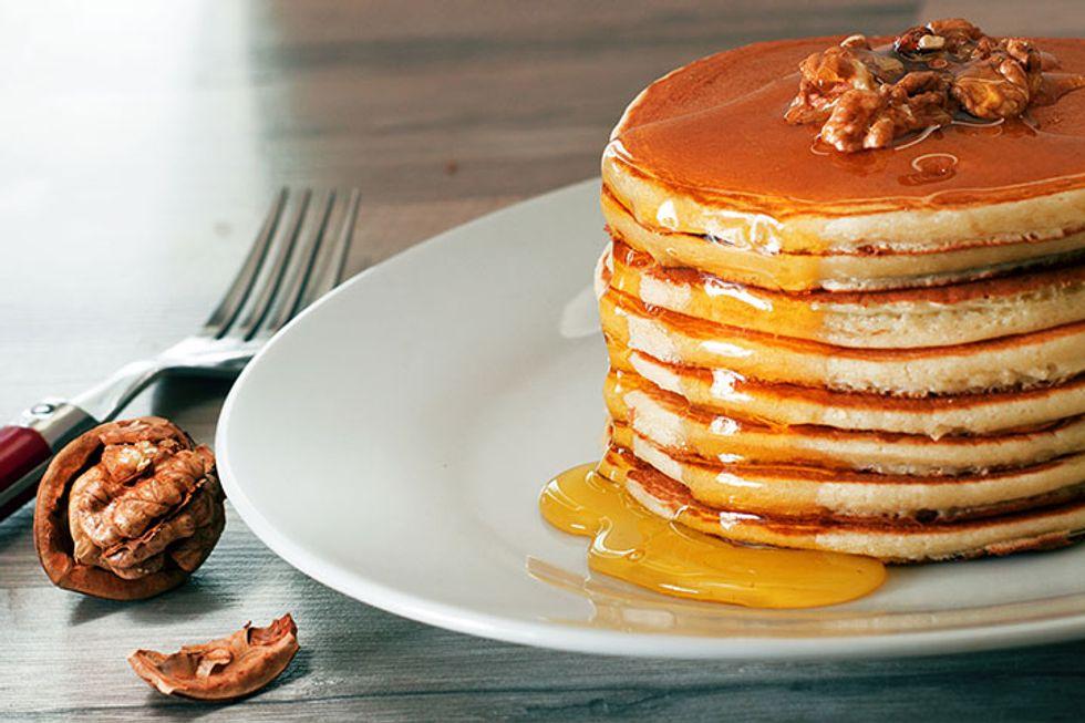 Kristin Cavallari's Cashew Pancakes With Cinnamon Brown Butter