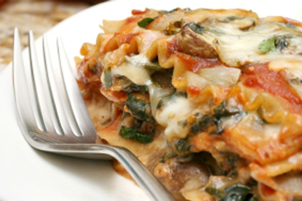 Rip Esselstyn's Sweet Potato & Vegetable Lasagna