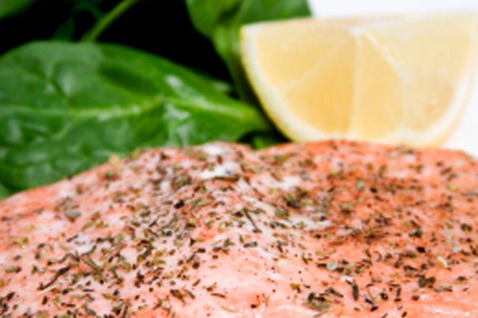 Poached Wild Salmon