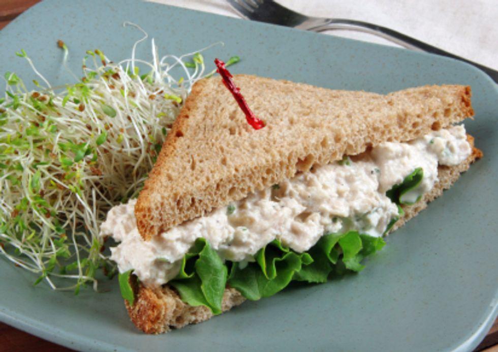 The Healthiest Catch Fish Sandwich
