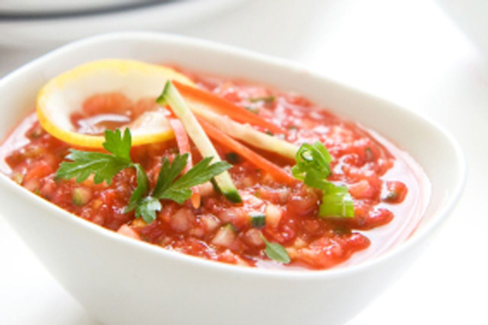 Art Smith's Red Bell Pepper Soup