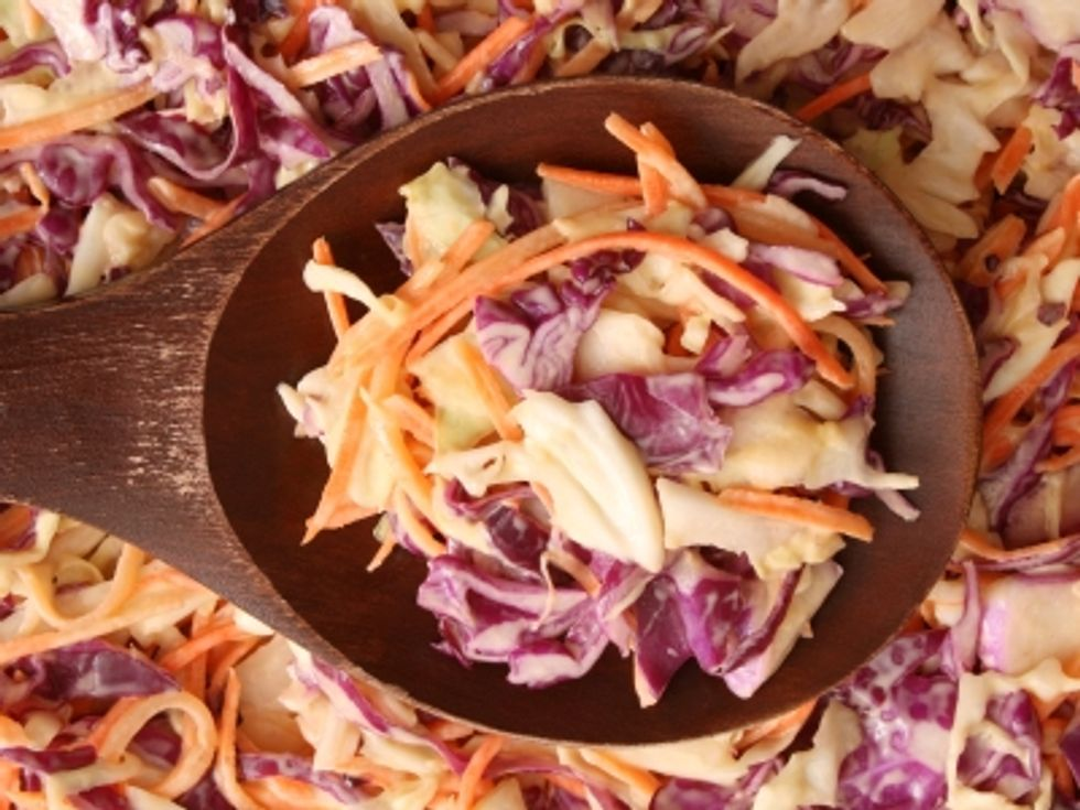 The Kitchen Diva's Southwestern Coleslaw with Creamy Buttermilk Dressing