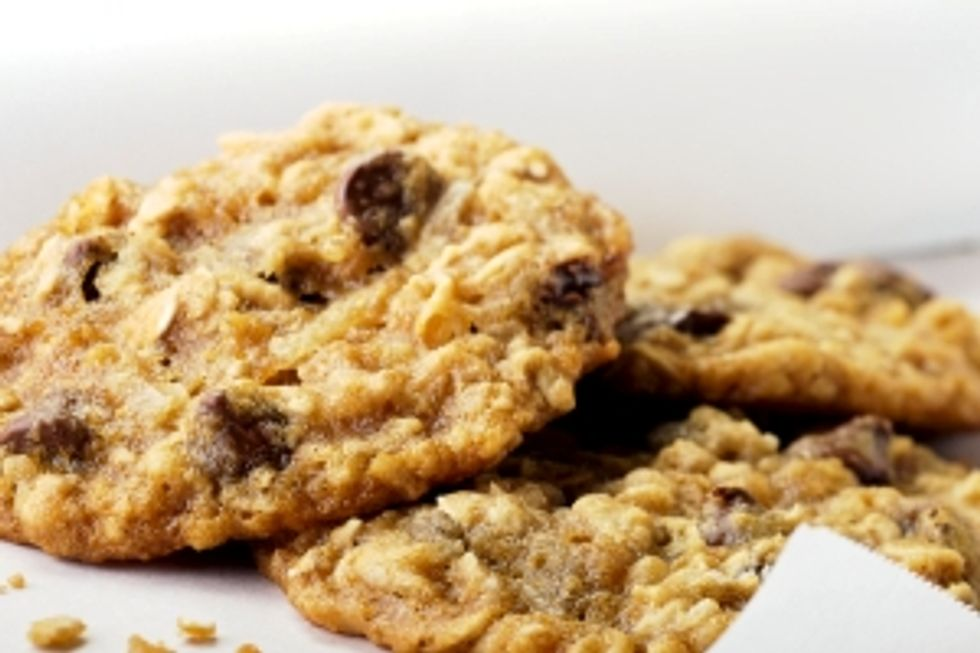 Oven-Baked Chocolate Chip Cookies