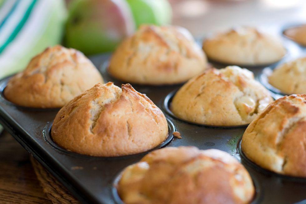Post Grape-Nuts Banana Crunch Muffins