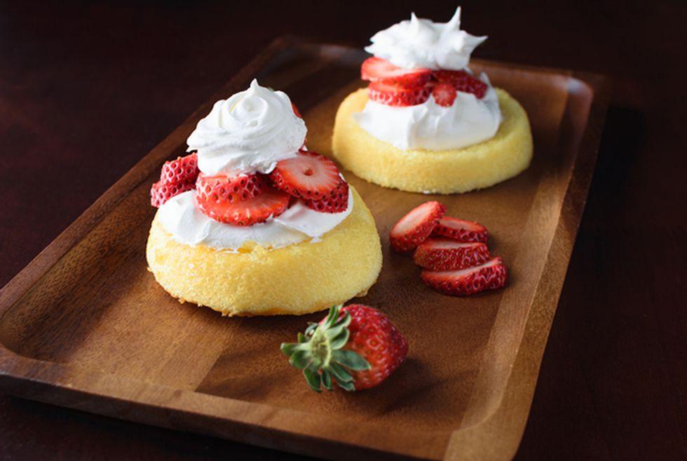 Devin Alexander's Strawberry Shortcake