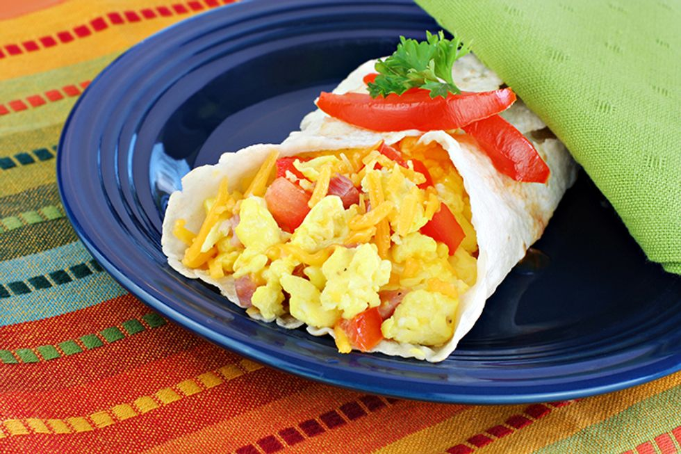 Gluten-Free Breakfast Burrito
