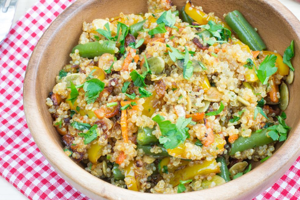 Vegetable Stir Fry with Quinoa