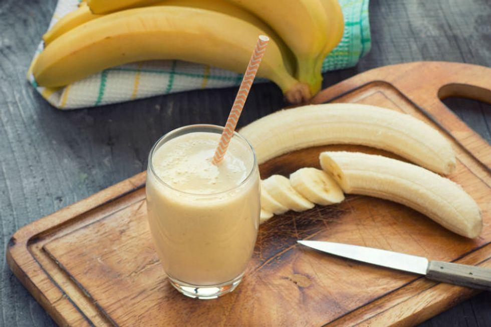 Cinnamon Banana Smoothie
