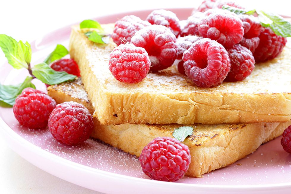 Dr. Petrucci's French Toast with Raspberries