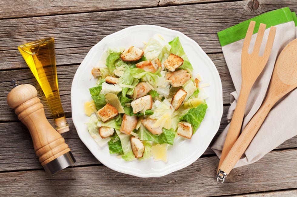 Natural Factors' Tropical Summer Caesar Salad