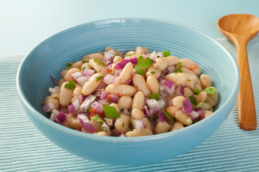 Quick and Clean Grilled Shrimp and Cannellini Bean Salad