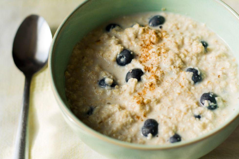 JJ Virgin's Blueberry Chia Oatmeal