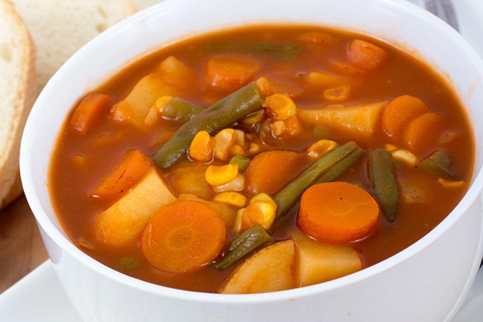 Warrior Veggie Soup