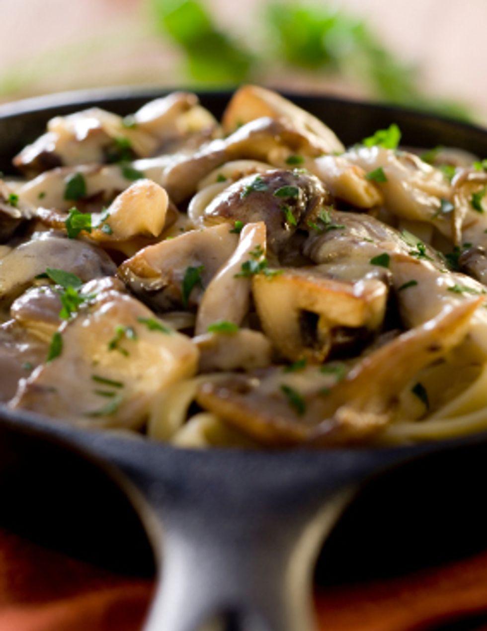Cholesterol-Busting Oyster Mushroom-Okra Medley