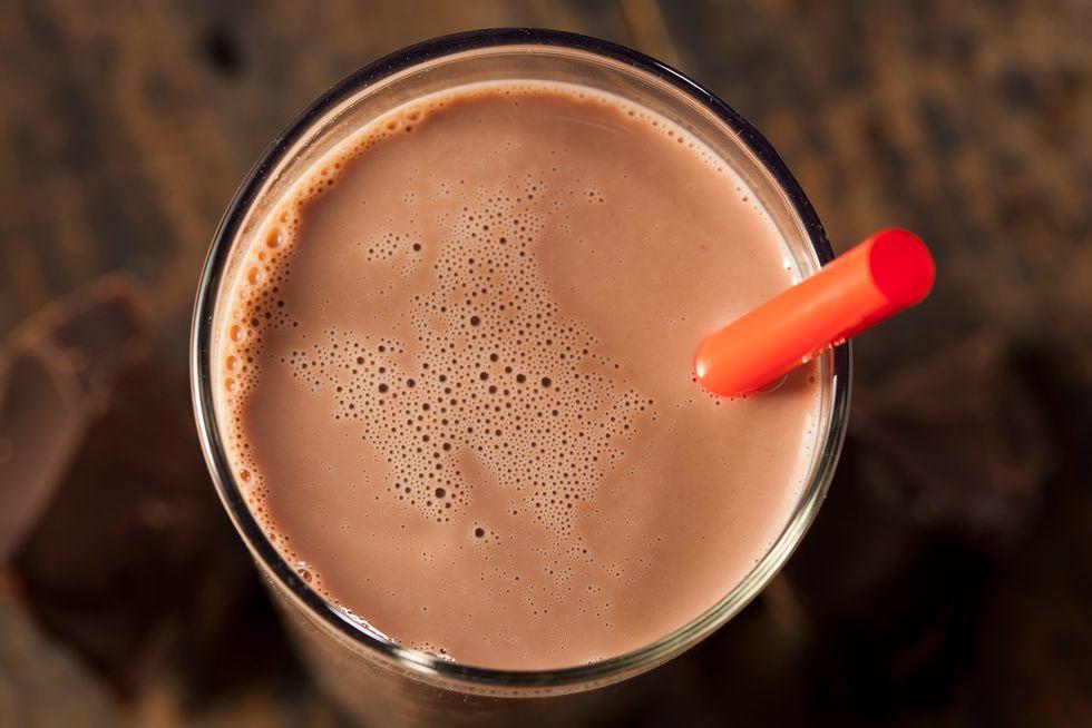 Fat-Burning Choco-Fruity Smoothie