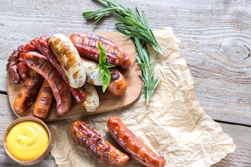 Rocco DiSpirito's Italian Hot Dog