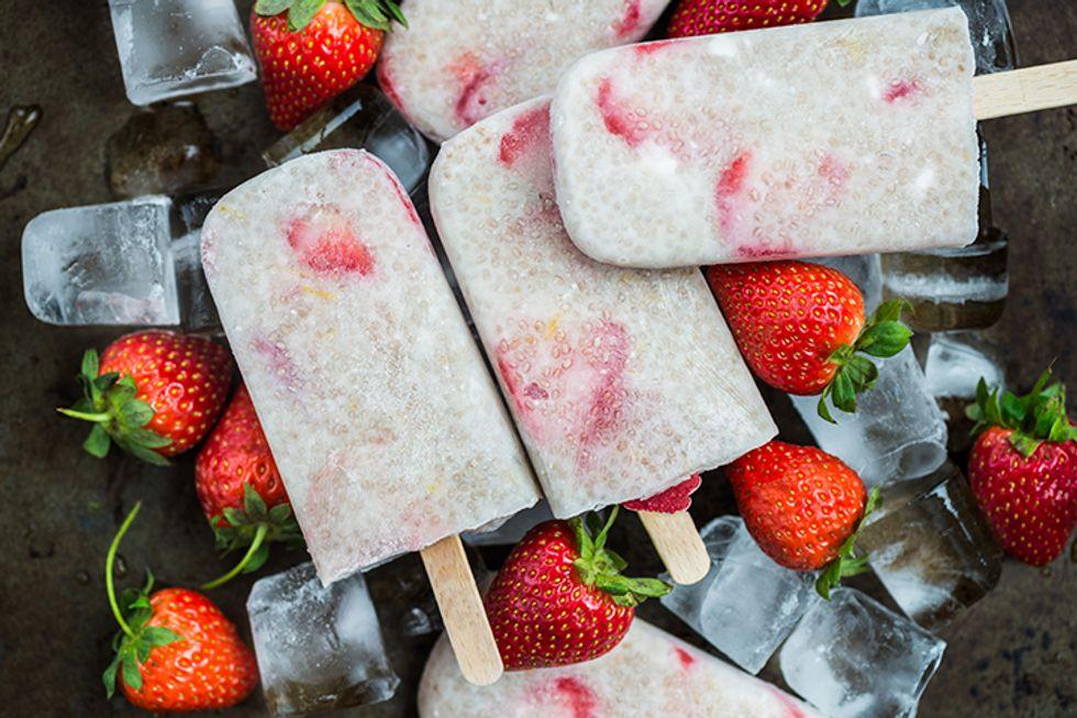 Strawberry Yogurt Pop