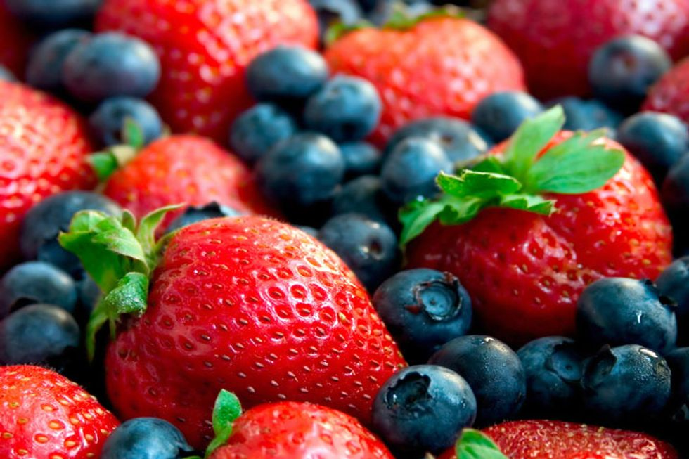 Berries With Asti Sauce