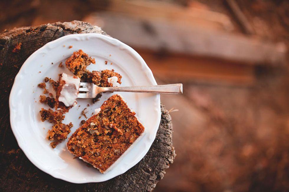 Charm City Monk Fruit Carrot Cake
