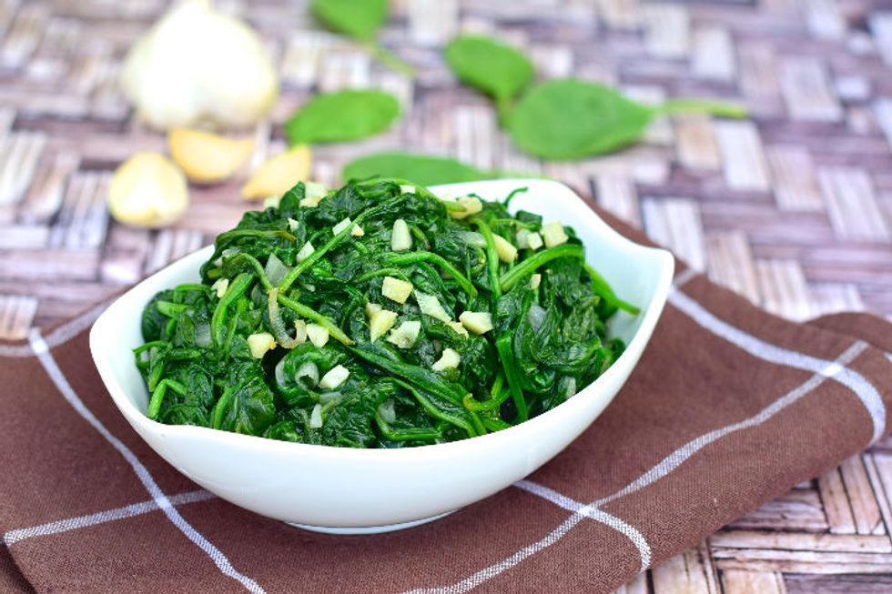Spinach Sautee