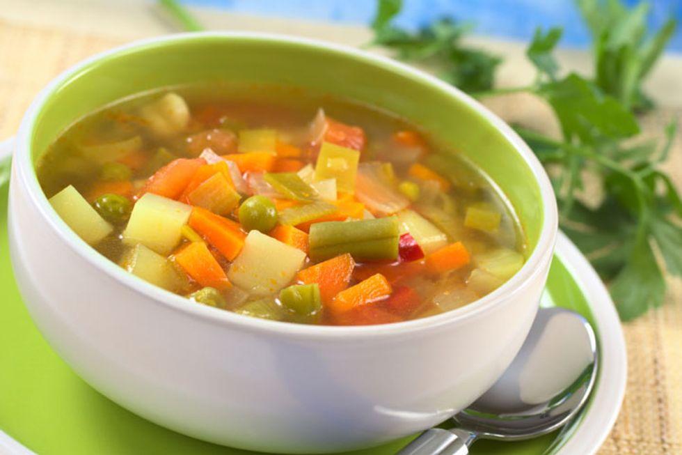 Negative Calorie Soup
