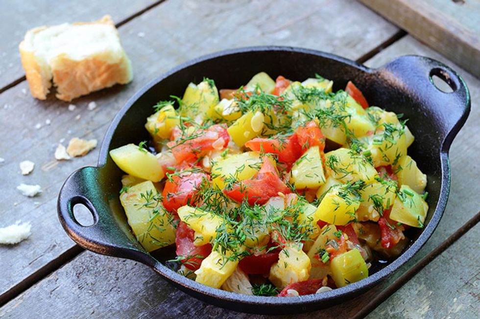 Curried Vegetable Ragout