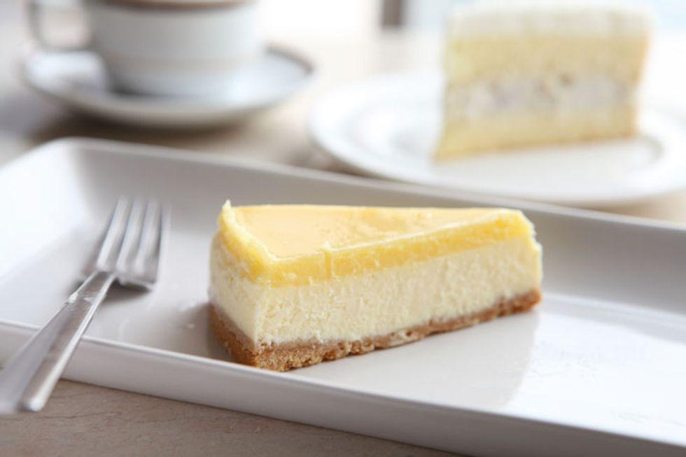 Healthier New York Cheesecake