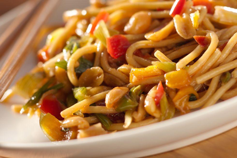 Vegan Sesame Noodles