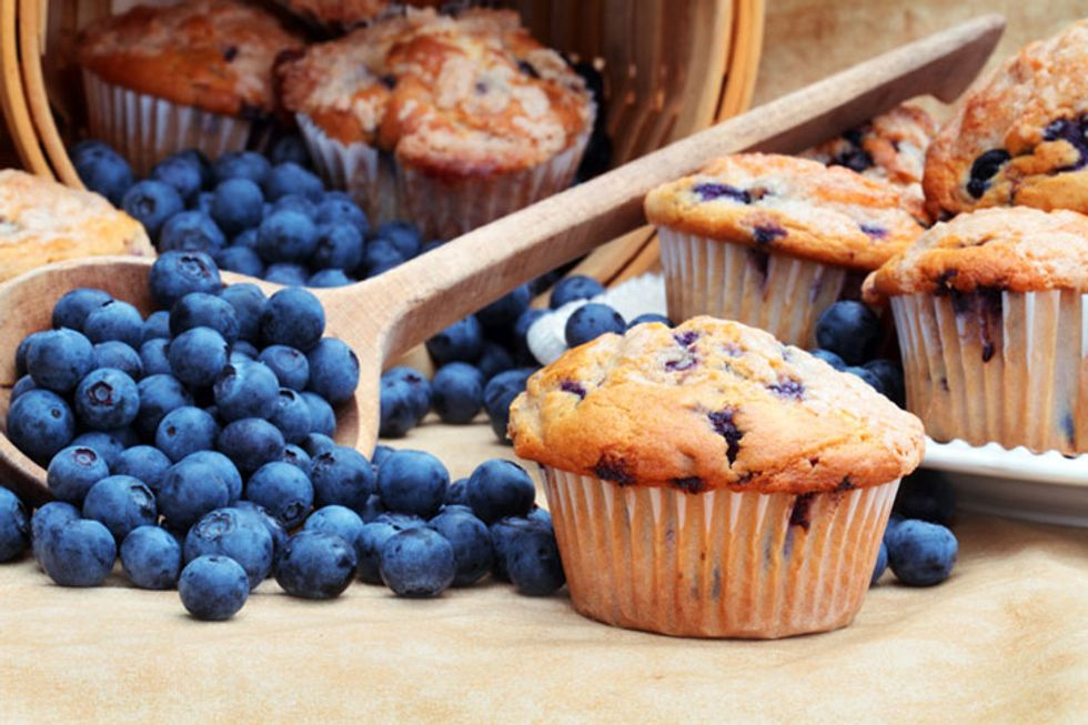 Wheat Belly Triple-Berry Quick Muffin