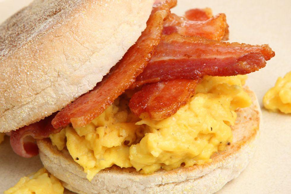 Mom's Breakfast Sandwich