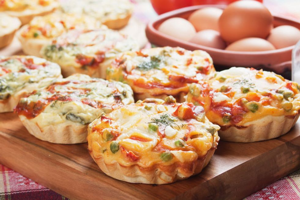 Hungry Girl's Broc N' Cheddar Crustless Quiche