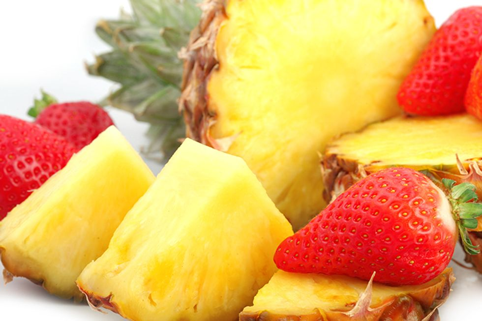 Pineapple-Strawberry Cooler