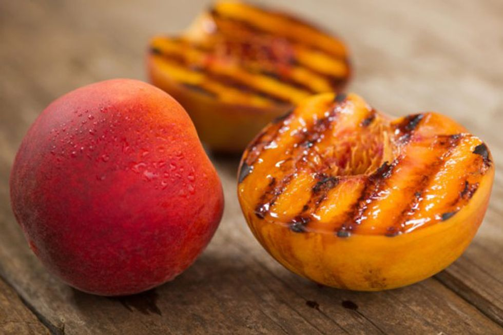 Daphne Oz's Relish Recipes: Caramelized Sweet Potatoes and Peaches