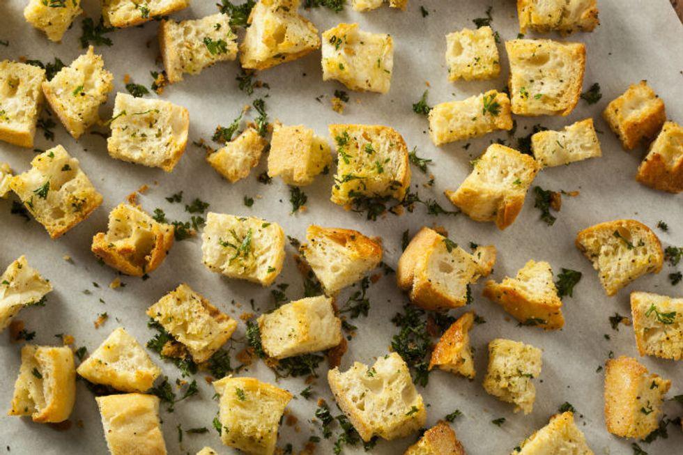 Butter Croutons