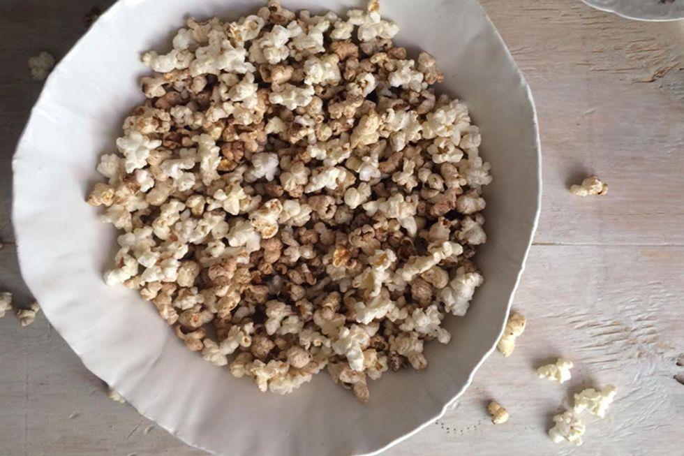 Wheat Germ Popcorn