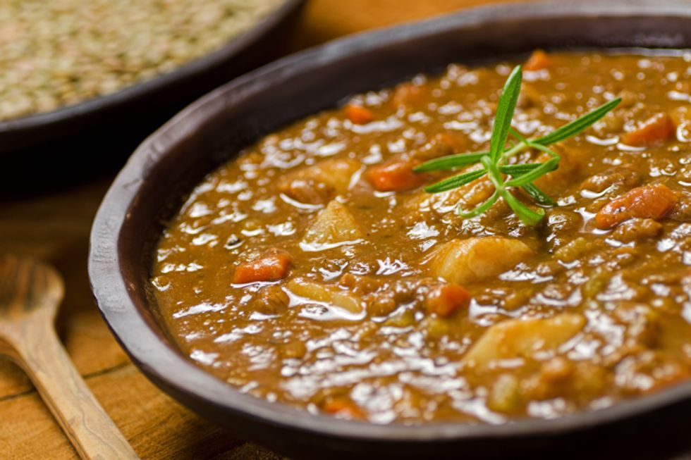 Hearty Lentil and Veggie Soup