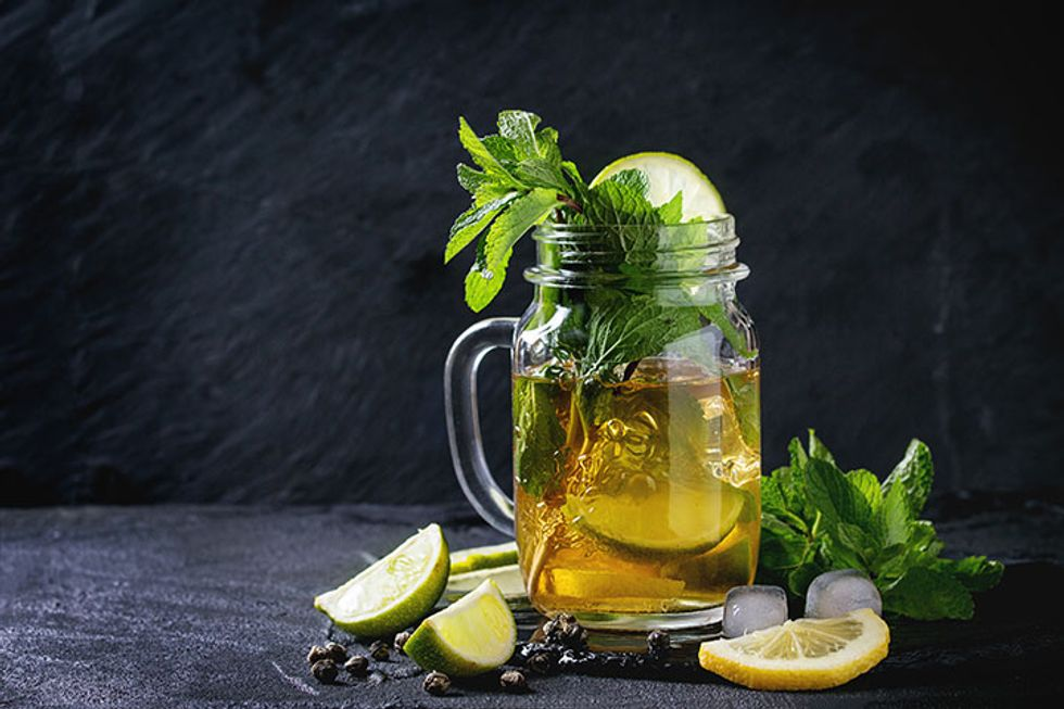 Iced Mate Sun Tea