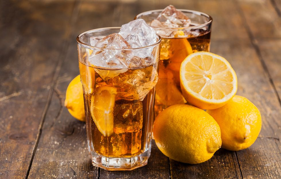 Iced Turmeric Tea