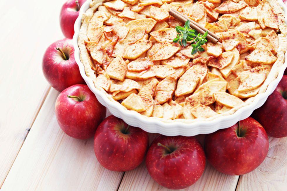 Dr. Joel Fuhrman's Apple Crunch Pie