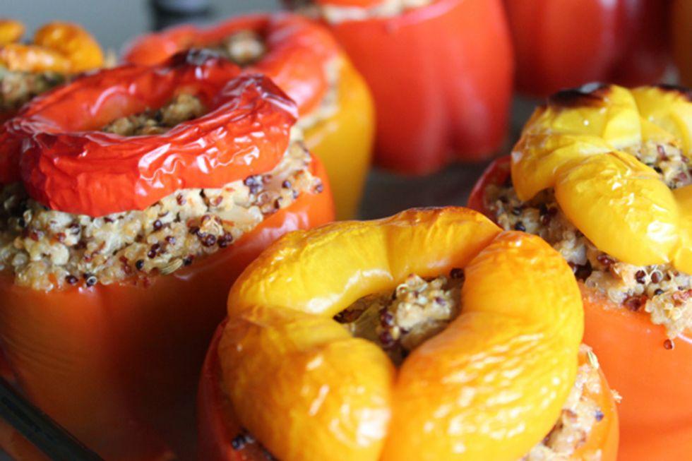 Pegan 365 Chili-Stuffed Peppers