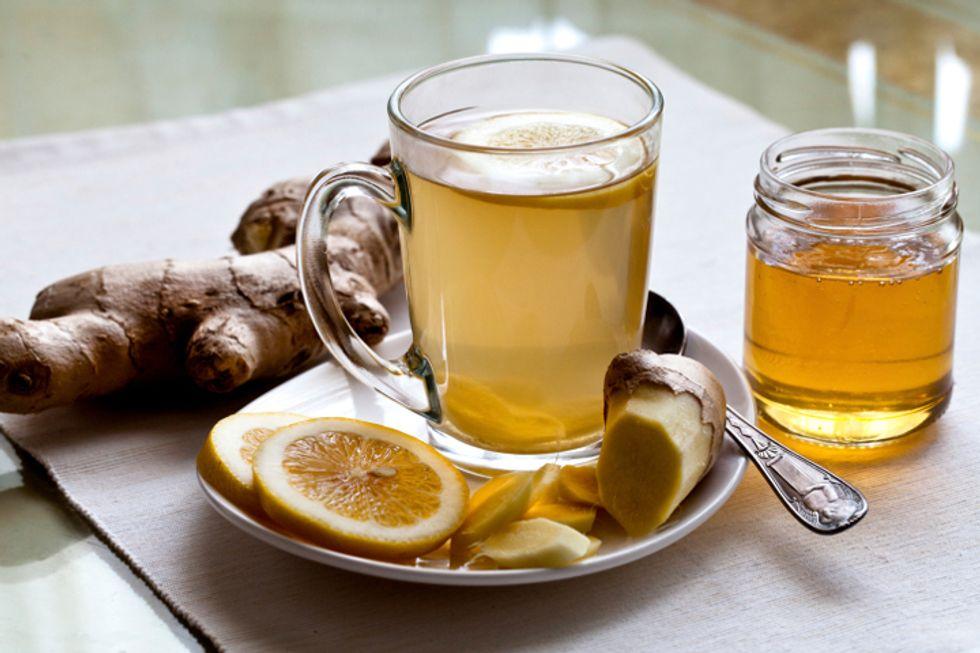 Al Roker's Mint Ginger Tea