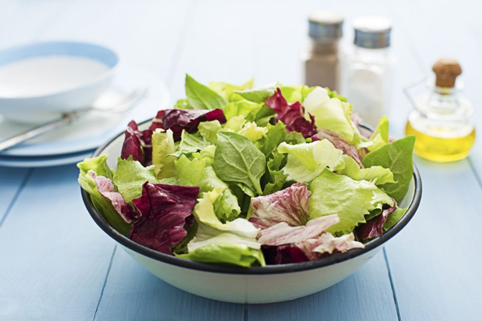 Stanley Tucci's Bistro Green Salad With Simple Vinaigrette
