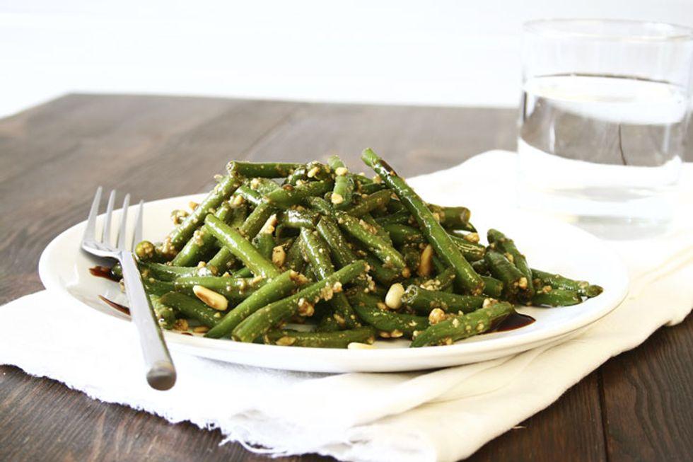 Robin Quivers' Warm Haricot Verts Salad