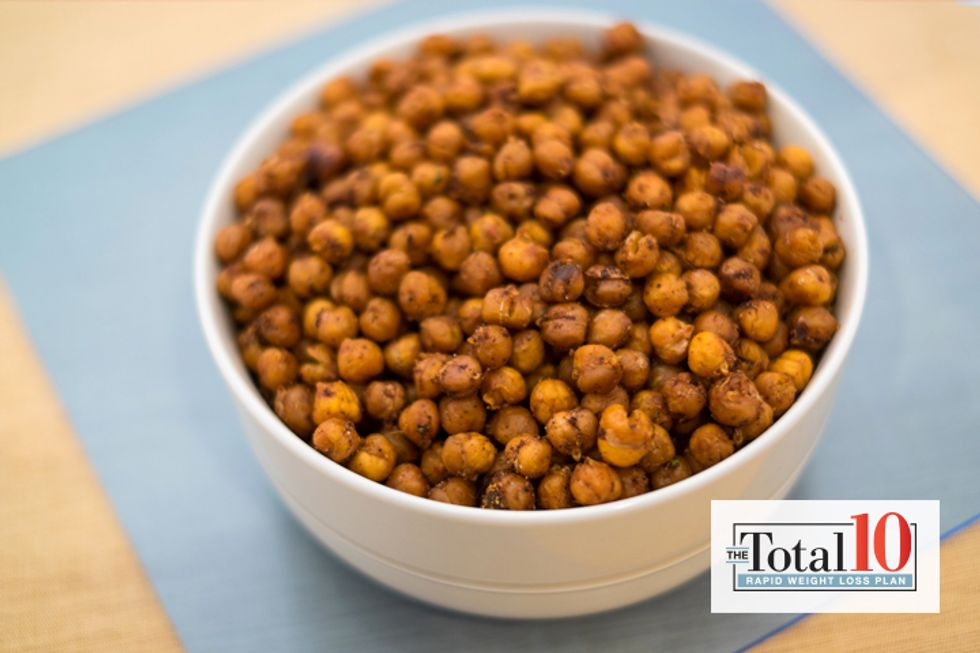 Total 10 Chili-Lime Roasted Chickpeas