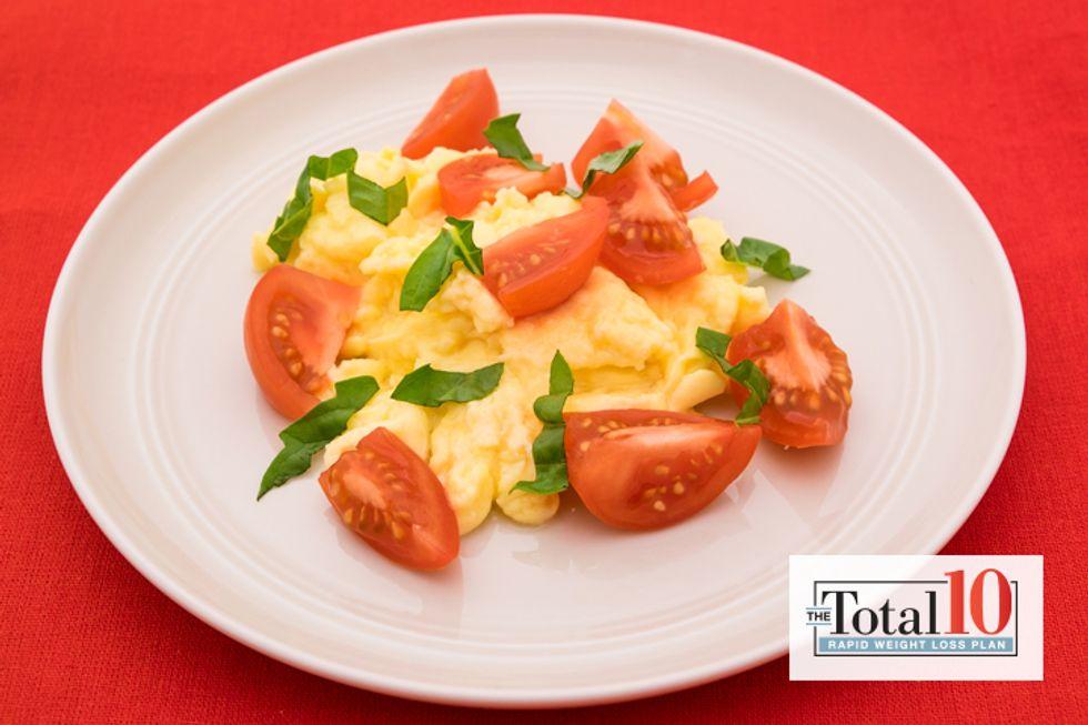 Total 10 Caprese Eggs Style