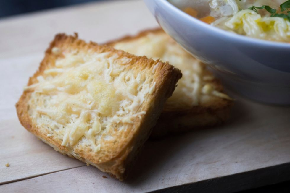 Parmesan Cheese Toasts